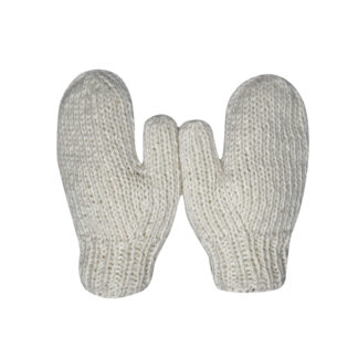 Mittens Men White