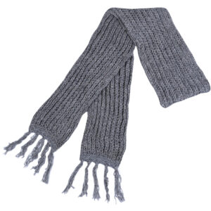 Plain Grey Muffler Men Grey