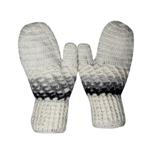 Mittens Men Black-Grey
