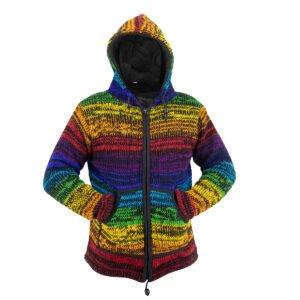 Jacket Jacket Rainbow-Black