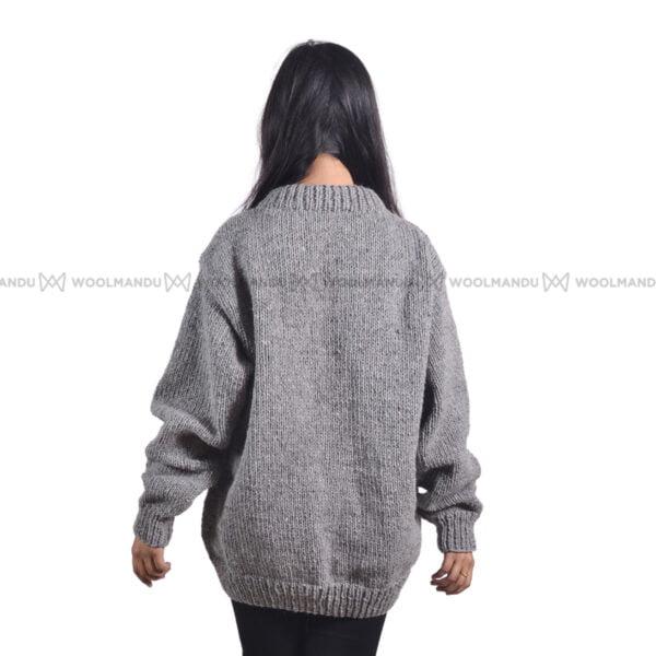 Grey Woolen Sweater