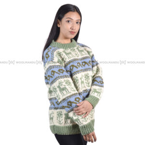 Sweater Sweater olive green
