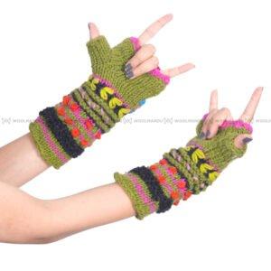 Flower Hand Warmer Knitted Hand Warmer flower