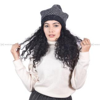 Crochet Beanie Beanie Charcoal
