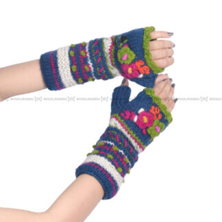 Flower Hand Warmer Hand Warmer Blue