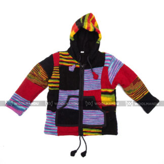 Kids Jacket Children Black