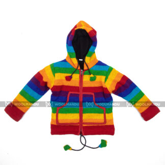 Kids Jacket Children Rainbow Set