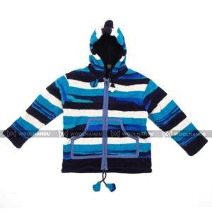 Kids Jacket Children Blue