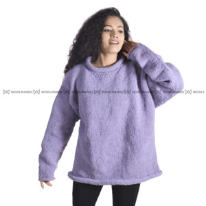 Sweater Sweater Cream purple