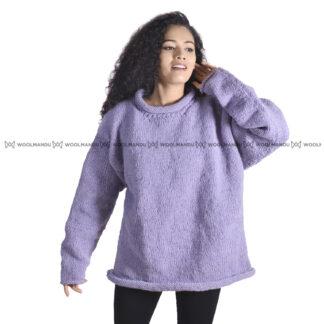 Sweater Sweater Cream purple