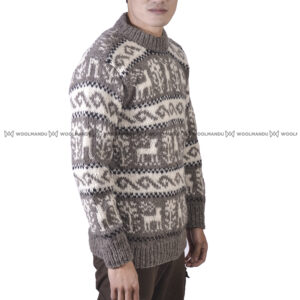 Sweater Men LIght Brown