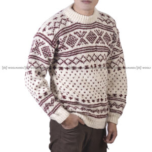 Sweater Men Maroon