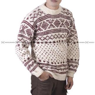 Sweater Men Maroon