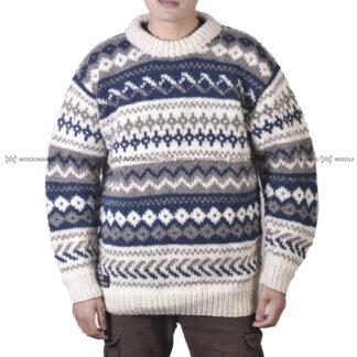 Sweater Men Navy Blue